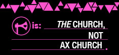 The church, not Ax church
